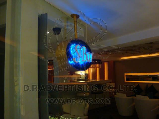 ตัวอักษรไดคัท ระบบไฟ LED